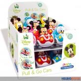"Disney Baby - Rückzug-Fahrzeuge ""Pull & Go Cars"" 4-sort."