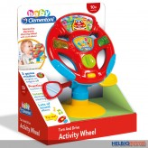 """Baby-Lenkrad """"Aktivitäts-Lenkrad - Activity Wheel"""" m. L&S"""
