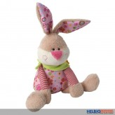 """Plüschtier Oster-Hase """"Happy Easter"""" stehend - 46 cm"""
