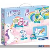 """Spiel-Set Edu Kit 4-in-1 """"I believe in Unicorns"""""""