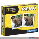 "Memo-Spiel ""Wilde Tiere / National Geographic Kids"""