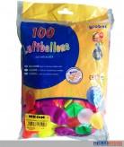 "Luftballons ""Neon-Farben"" Ø 25 cm - 100er Beutel"