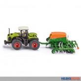Siku 1826 - Traktor Claas Xerion mit Amazone Sämaschine