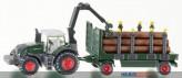 Siku 1861 - Traktor mit Holzanhänger