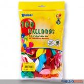"Luftballons ""Color"" Ø 18 cm - 100er Beutel"