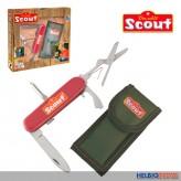 """Scout - Kinder-Taschenmesser """"Outdoor"""" inkl. Gürteltasche"""