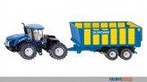 Siku 1947 - New Holland Knicklenker mit Silagewagen