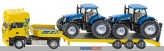Siku 1984 - LKW mit Traktoren