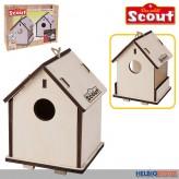 Scout - Holz-Vogelhaus & Nistkasten 2in1