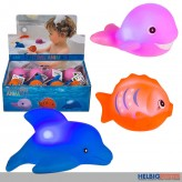 "LED-Wasser-Spieltiere ""Bathing animals"" - 3-sort."