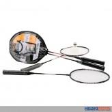 "Federball-Set / Badminton-Set ""Sports Active"" inkl. Tasche"
