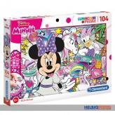 """Juwelen Puzzle - Disney Junior """"Minnie Mouse"""" 104 Teile"""