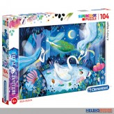"Brilliant Puzzle ""Feen-Nacht / A Fairy Night"" 104 Teile"