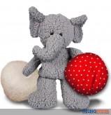 """Plüschfigur """"2 in 1 - Elefant"""" - m. wechselbaren Kissen"""