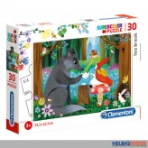 "Kinder-Puzzle ""Tee-Pause im Wald / Tea Break"" 30 Teile"