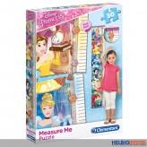 "Messlatten-Puzzle - Disney ""Prinzessin/Princess"" 30 Teile"