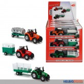"Traktor-Set ""Farm Life Team"" 3-sort. - Display"