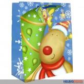 """Geschenktüte gr. Kinder """"Weihnachten"""" - sort."""