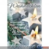 """Glückwünschkarte Weihnachten """"Träume & Wünsche"""""""