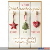 """Glückwünschkarte Weihnachten """"Eine schöne Weihnachtszeit.."""""""