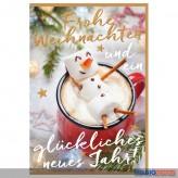 """Glückwünschkarte Weihnachten """"Frohe Weihnachten..."""""""