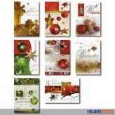 "Glückwunschkarten ""Weihnachten"" - 100er Sortiment"