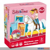 "Reisespiel ""Bibi & Tina Gamebox 2 in 1"""