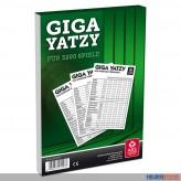 "Würfelspiel / Spielblock ""Giga Yatzy"" für 3200 Spiele"