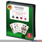 """Spielkarten """"Patience-Miniromme-Solitaire"""" im Etui"""