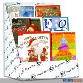 "Beilegekarten ""Weihnachten/Christmas"" - 60er Sortiment"