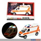"""Rettungswagen """"Cars & Trucks S.O.S"""" m. Licht & Sound"""