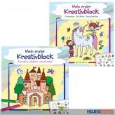 """Bastelbuch """"Mein erster Kreativblock"""" 2-sort."""