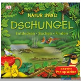 "Pop-Up-Buch ""Natur in 3D - Ozeane & Urwald"" 2-sort."