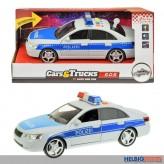"""Polizei-Auto """"Cars & Trucks"""" m. Licht & Sound - 29 cm"""