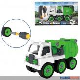 """LKW zum Schrauben """"City Truck 3 in 1""""- mit Werkzeug - DIY"""