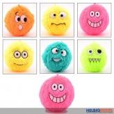 """Aufblasbarer Plüsch-Ball """"Fuzzy Balls"""" - 6-sort."""