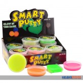 "Intelligente Knete ""Smart Putty"" Nachtleuchtend - 4-sort."