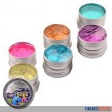 """Glitter-Schleim """"Crazy Putty 100 g"""" - 6-sort."""