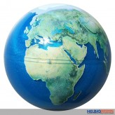 "Glitzer-Ball ""Planet Erde / Planet Earth Ball"" 6,5 cm"