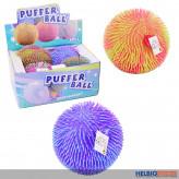 """Flauschiger Zottel-Ball """"Puffer Ball 22 cm"""" sort. - Display"""