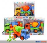 "Baby-Fahrzeug ""Betonmischer""- inkl. Werkzeuge"
