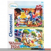 "Puzzle Disney ""Winnie The Pooh"" Super Color - 2 x 20 Teile"