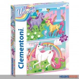 "2er Puzzle-Set ""Einhorn - I believe in Unicorns"" 2x 20 Teile"