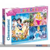 "Puzzle Disney Princess ""Prinzessin"" - 3 x 48 Teile"