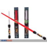 """Laser-Schwert """"Space"""" ausziehbar - sort."""