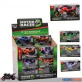 "Motorrad ""Motor Races Motorcycles"" 1:24 - 6-sort."