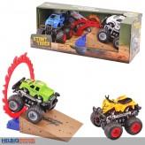 """Auto-Set """"Stunt Truck inkl. Rampe"""" m. Friktionsantrieb"""