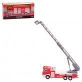 """Metall-Auto """"Feuerwehr"""" mit Rückzug 1:64 - 2-sort."""