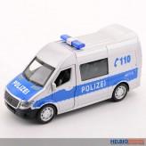 """Metall-Auto """"Polizei-Transporter"""" 1:32 - mit Licht & Sound"""