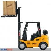 """Metall-Auto """"Gabelstapler / Forklift Car"""" 1:50 - m. Rückzug"""